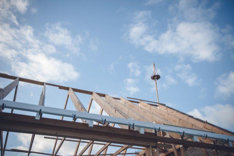 Les étapes de construction d'un toit
