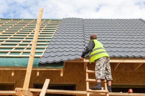 La toiture en acier
