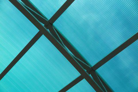 Le toit en polycarbonate