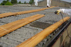 Le toit fibrociment