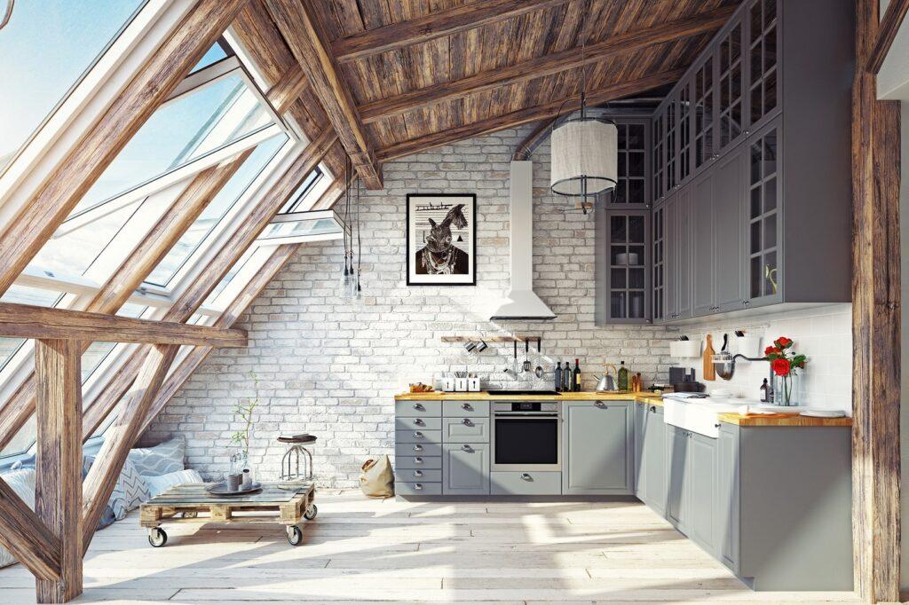 platelage sous toit combles aménagées